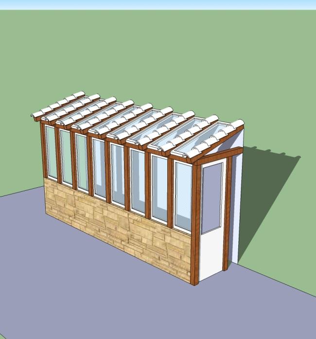 Greenhouse tiles